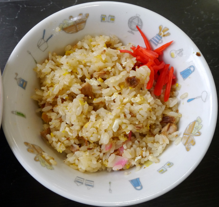 かづ枝食堂チャーハン