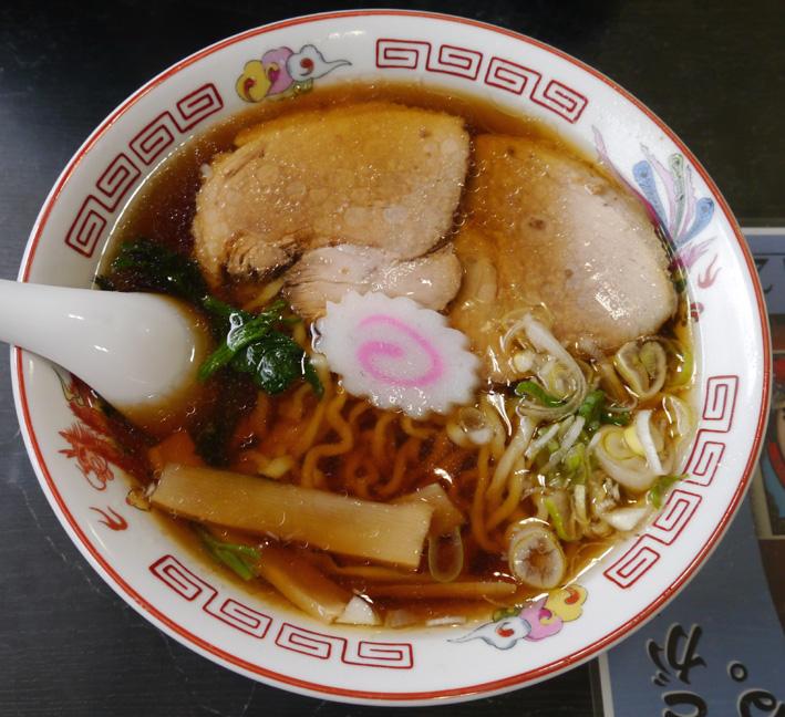 かづ枝食堂醤油ラーメン