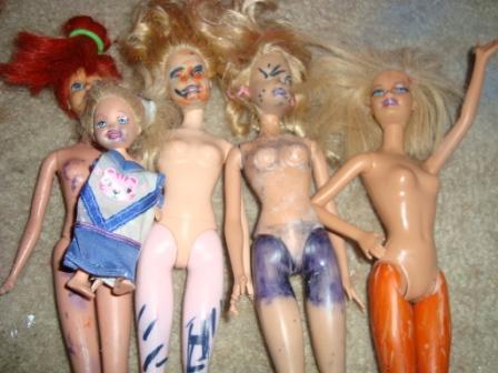 2-11 dolls