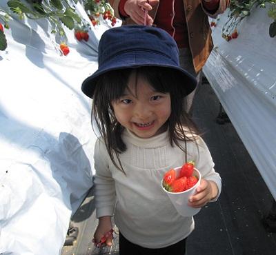 20100418イチゴ狩り (6)