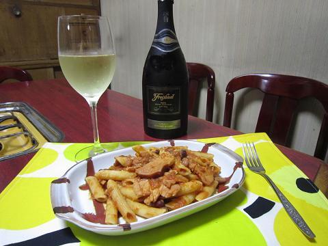 パスタ&ワイン