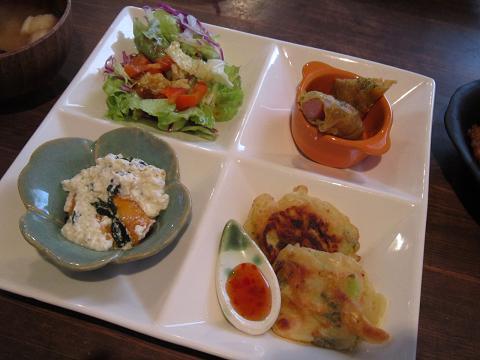 4種の副菜