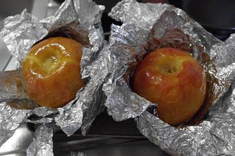 焼きりんご3