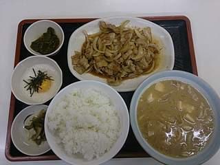 20130922 こずえ食堂 スタミナ定食