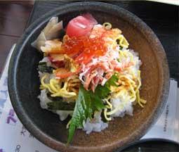 かに定食6
