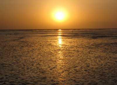 有明海の朝日2