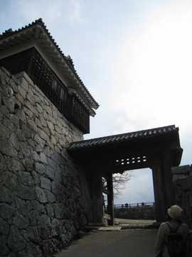 松山城3隠門