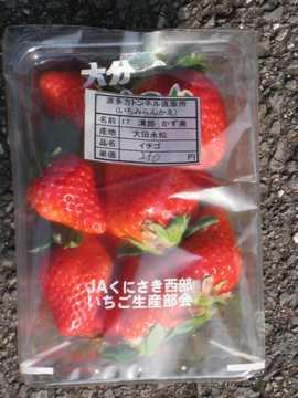 いちご250円