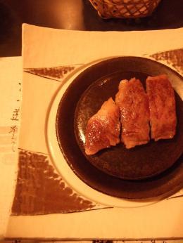 岩手牛のステーキ