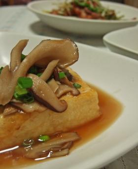 お豆腐ステーキ~♪