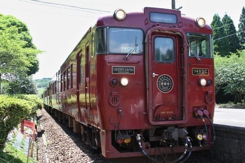 大畑駅にて撮影会 2