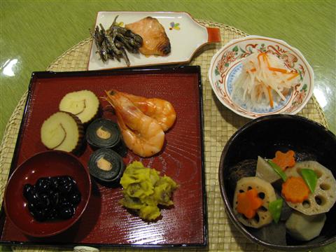 おせち料理2011