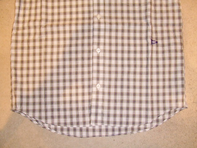 MDY CLASSIC CHECK SHIRTS WHITE FT2
