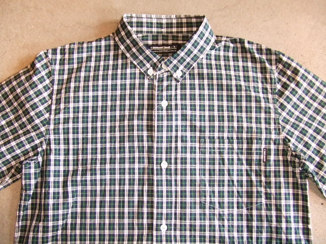 MDY CLASSIC CHECK SHIRTS GREEN FT1