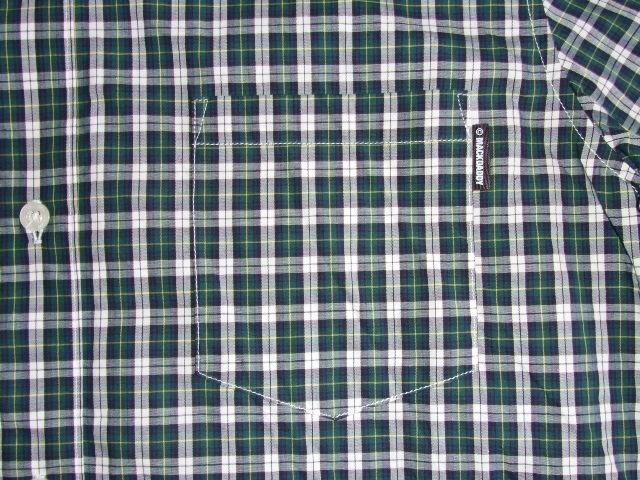 MDY CLASSIC CHECK SHIRTS GREEN PT