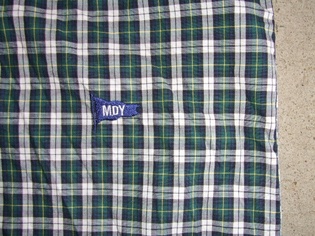 MDY CLASSIC CHECK SHIRTS GREEN MDY
