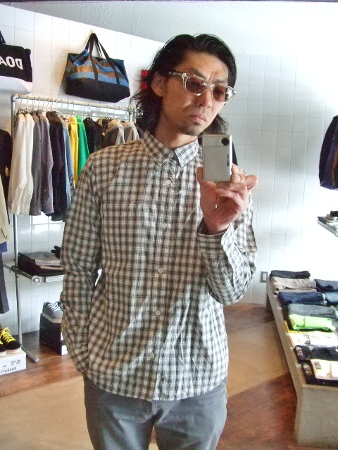 MDY CLASSIC CHECK SHIRTS ST