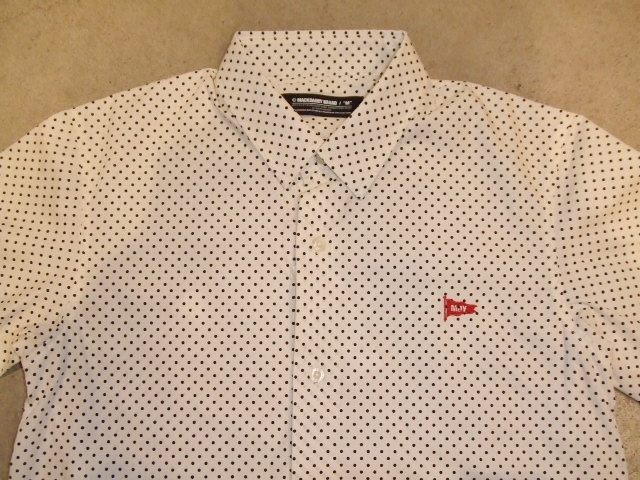 MDY EXCHANGE DOT SHIRTS WHITE FT1