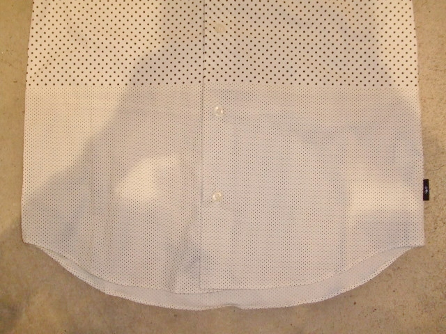 MDY EXCHANGE DOT SHIRTS WHITE FT2