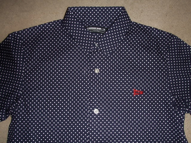 MDY EXCHANGE DOT SHIRTS NAVY FT1