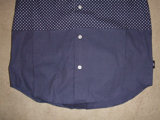 MDY EXCHANGE DOT SHIRTS NAVY FT2