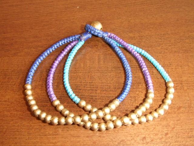 rehacer Bell bracelet blue