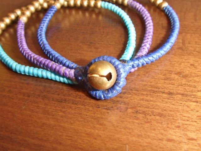 rehacer Bell bracelet blue bell