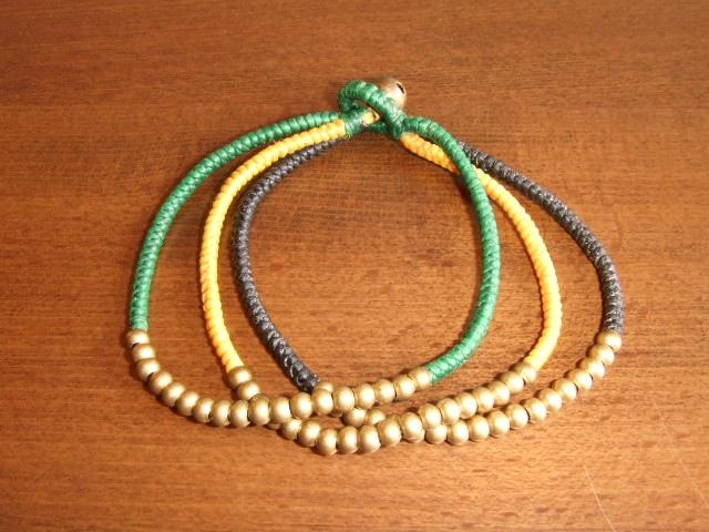 rehacer Bell bracelet green