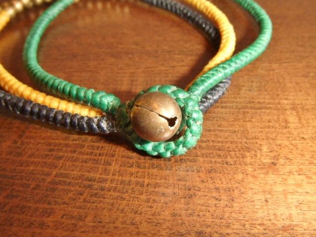 rehacer Bell bracelet green bell