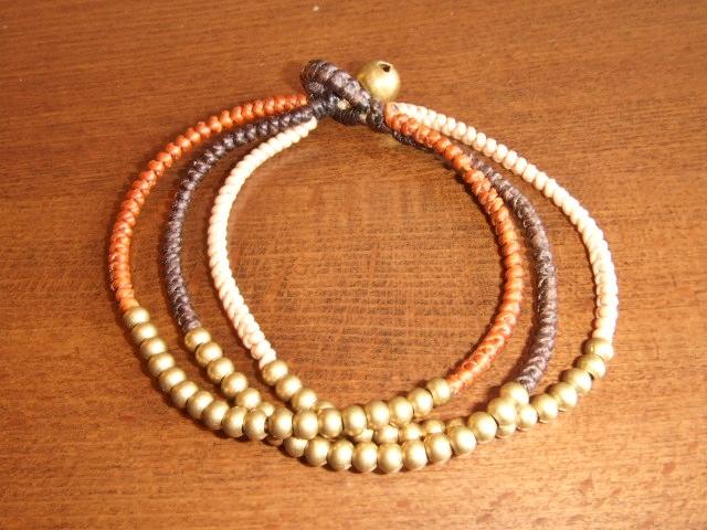 rehacer Bell bracelet brown