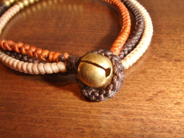 rehacer Bell bracelet brown bell
