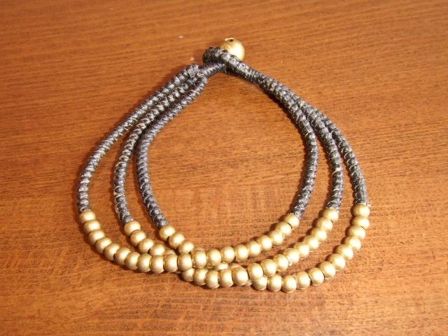 rehacer Bell bracelet black