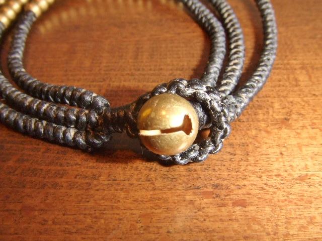 rehacer Bell bracelet black bell