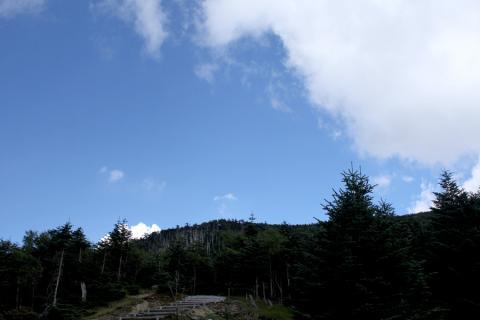 少し雲が出てきましたらとても涼しい