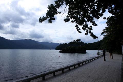 十和田湖外周。