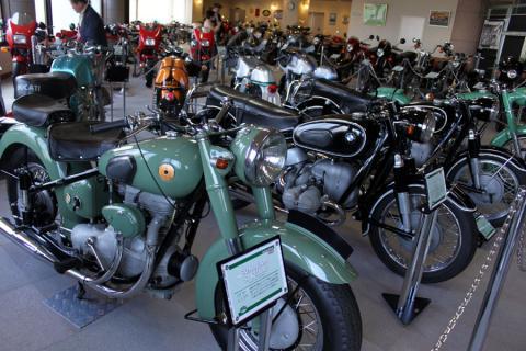 有名・無名様々なバイク達
