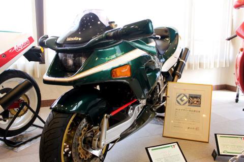 変わったバイクといえば、ビモータ。