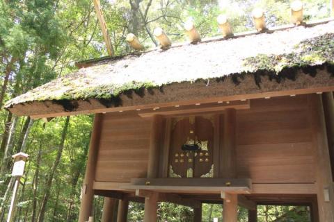 苔生した屋根がいいかんじ。