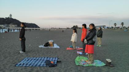 20110102片瀬海岸東浜