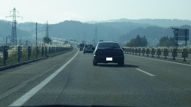セフィーロ、関越道にて