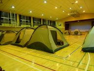 体育館テント