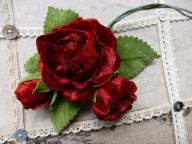 布花の薔薇
