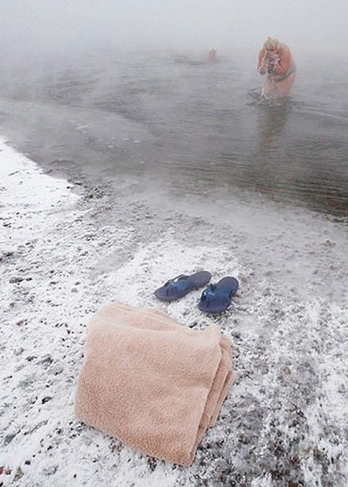 ロシア寒中水泳5