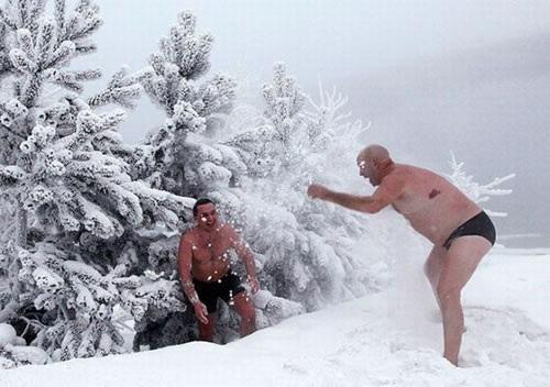 ロシア寒中水泳4