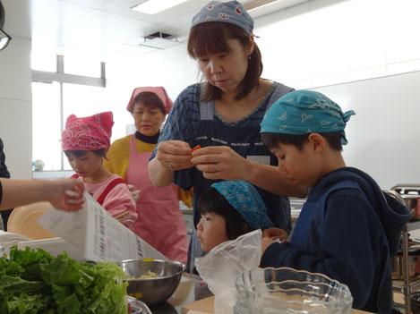 20130127食生活改善協議会主催「親子料理教室」