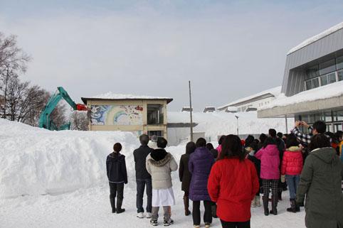 20130201旧沼田小学校校舎お別れの会