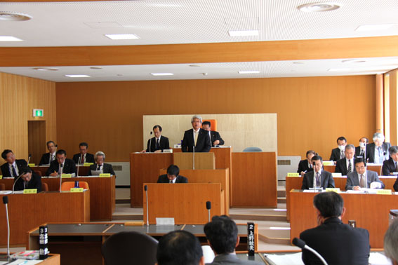 20130311平成25年第1回沼田町議会定例会が始まりました