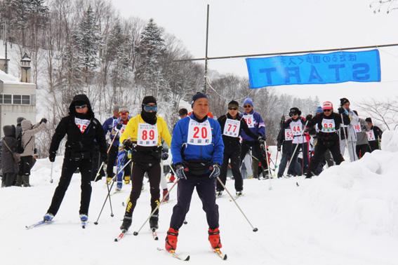 20130324明日萌の里・ほたるの里歩くスキーの集い