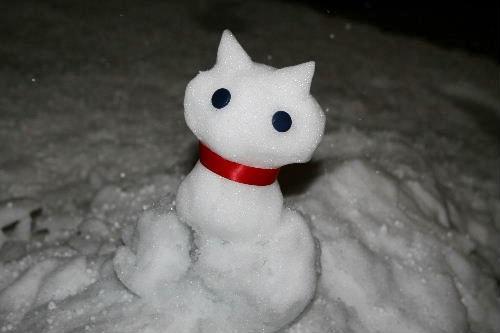 雪にゃるま