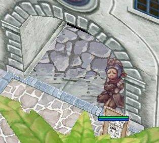 さて、この小屋(?)の軒下で、捨てられた子猫を頭に乗せ、どうしようかと考えている子供(マテ)ですが